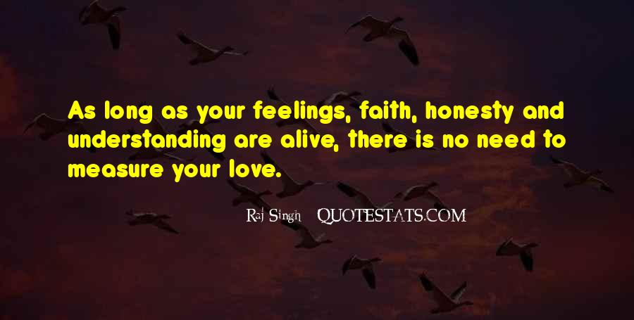 Quotes On Feelings And Understanding #482367
