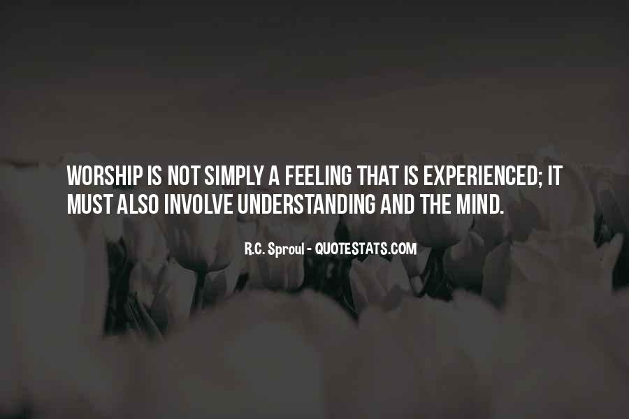 Quotes On Feelings And Understanding #799714
