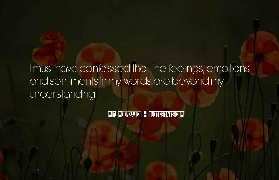 Quotes On Feelings And Understanding #882186