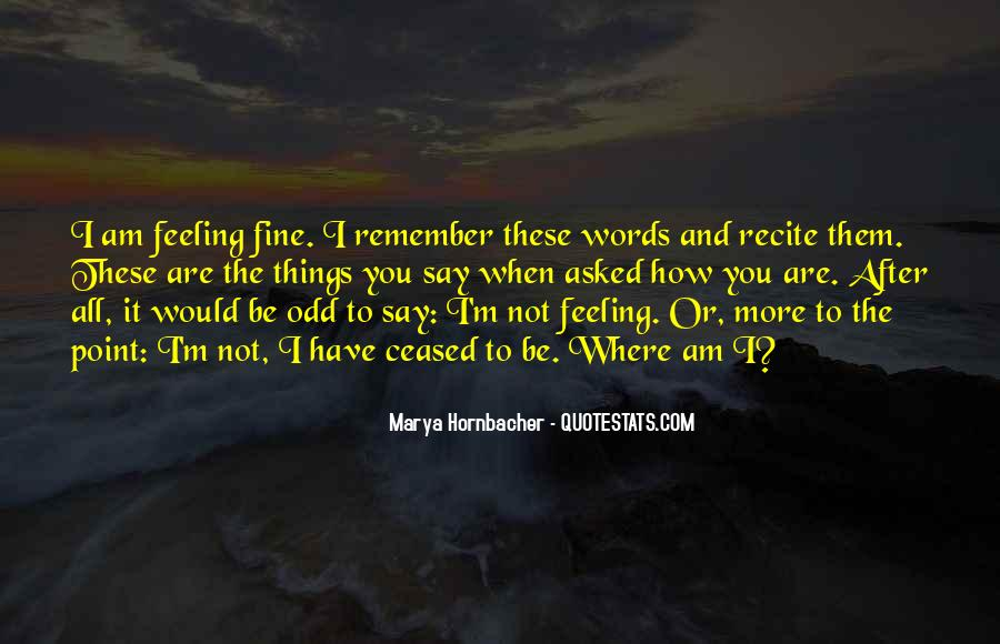 Quotes On Feelings And Words #860258