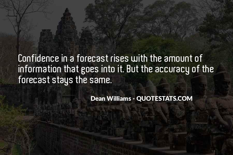 Quotes On Forecast Accuracy #258379