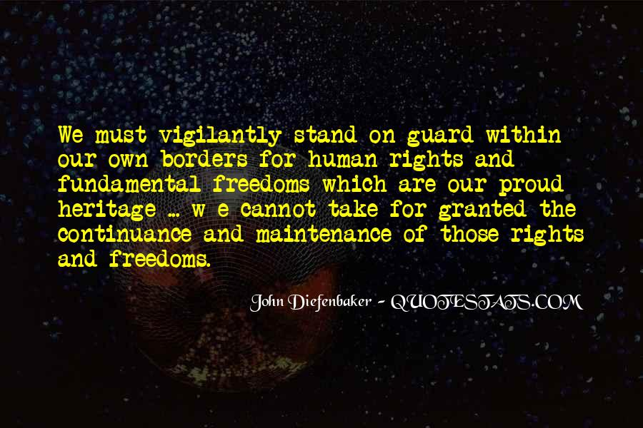 Quotes On Fundamental Human Rights #1660984