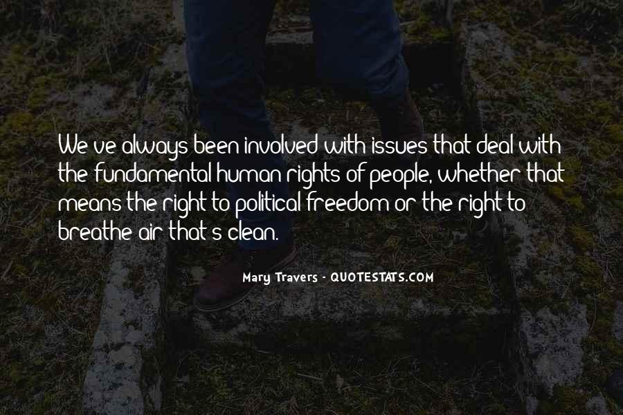 Quotes On Fundamental Human Rights #255631