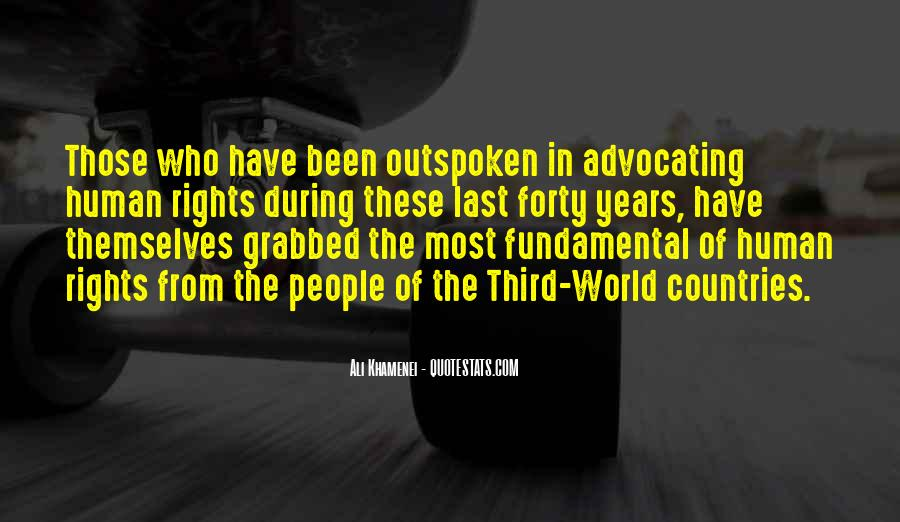 Quotes On Fundamental Human Rights #346896
