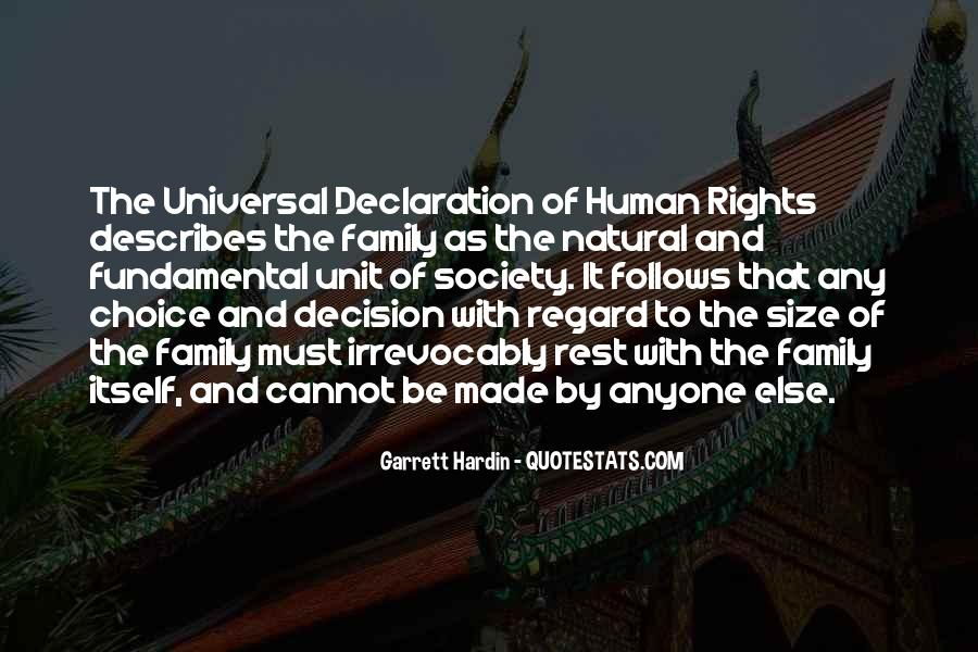 Quotes On Fundamental Human Rights #400111