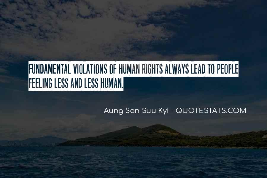 Quotes On Fundamental Human Rights #819195