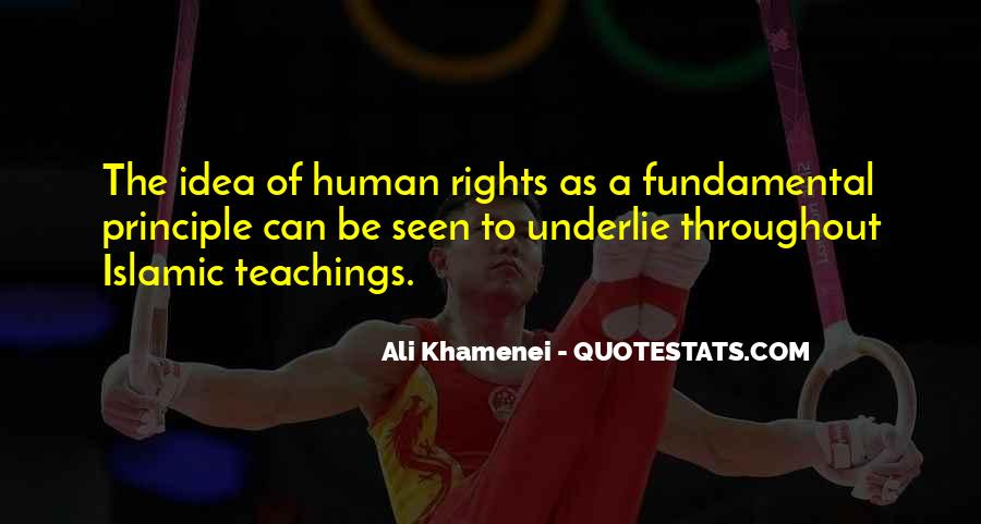 Quotes On Fundamental Human Rights #933774