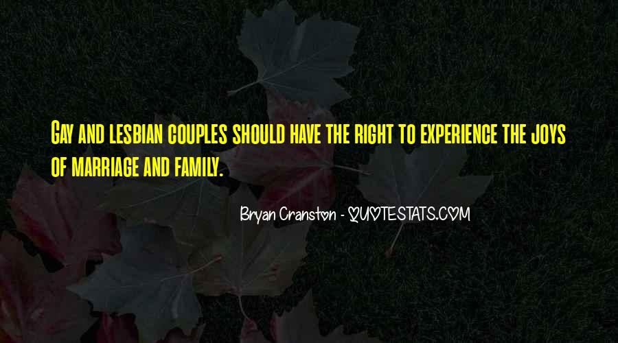 Quotes On Gay Marriage Con #12720