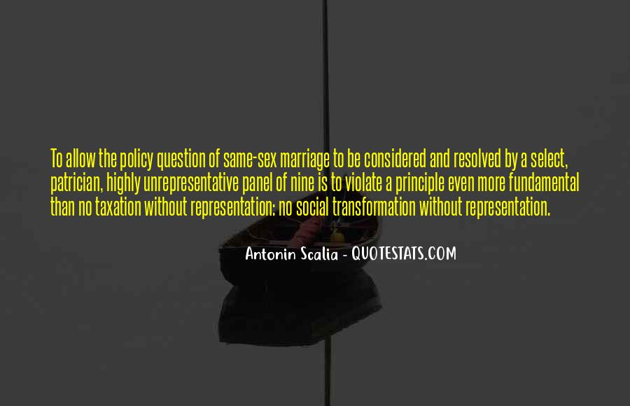 Quotes On Gay Marriage Con #132828