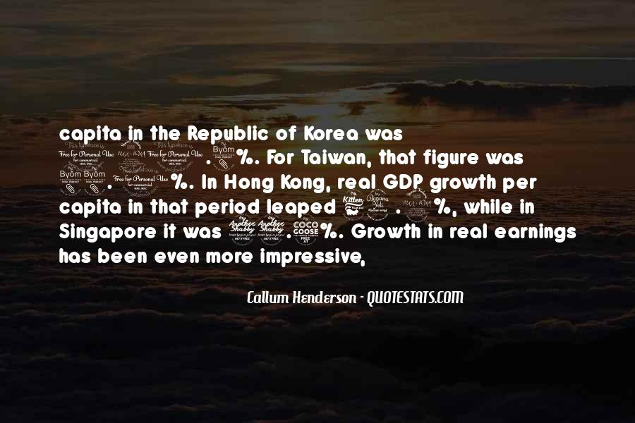 Quotes On Gdp Growth #107951