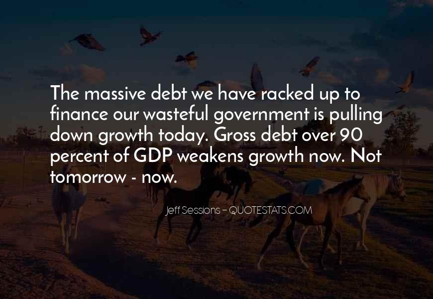 Quotes On Gdp Growth #1817945