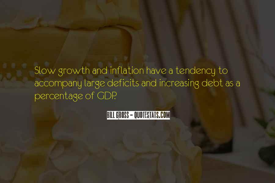 Quotes On Gdp Growth #1839684
