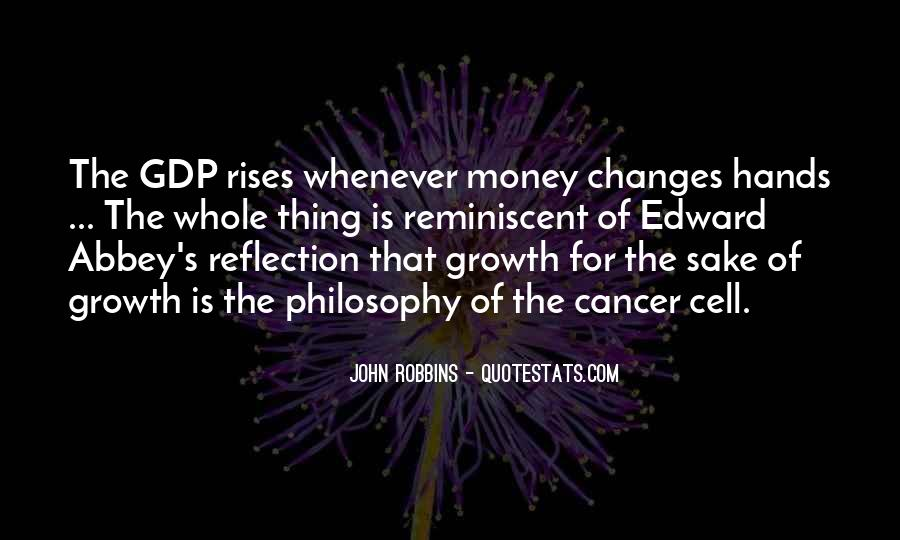 Quotes On Gdp Growth #321319