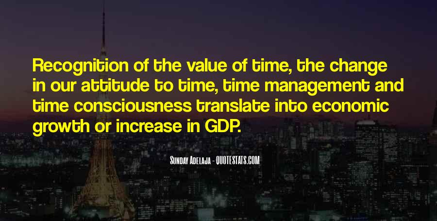 Quotes On Gdp Growth #688630