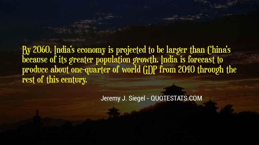 Quotes On Gdp Growth #757552