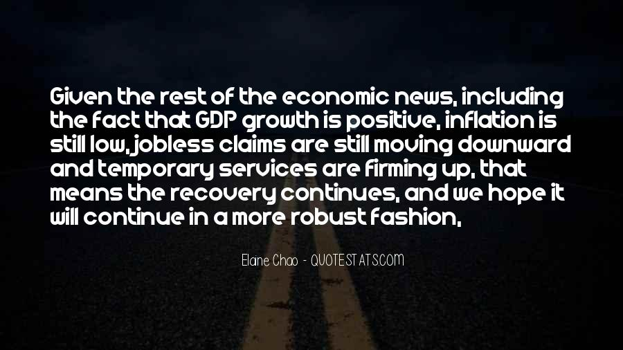 Quotes On Gdp Growth #936479