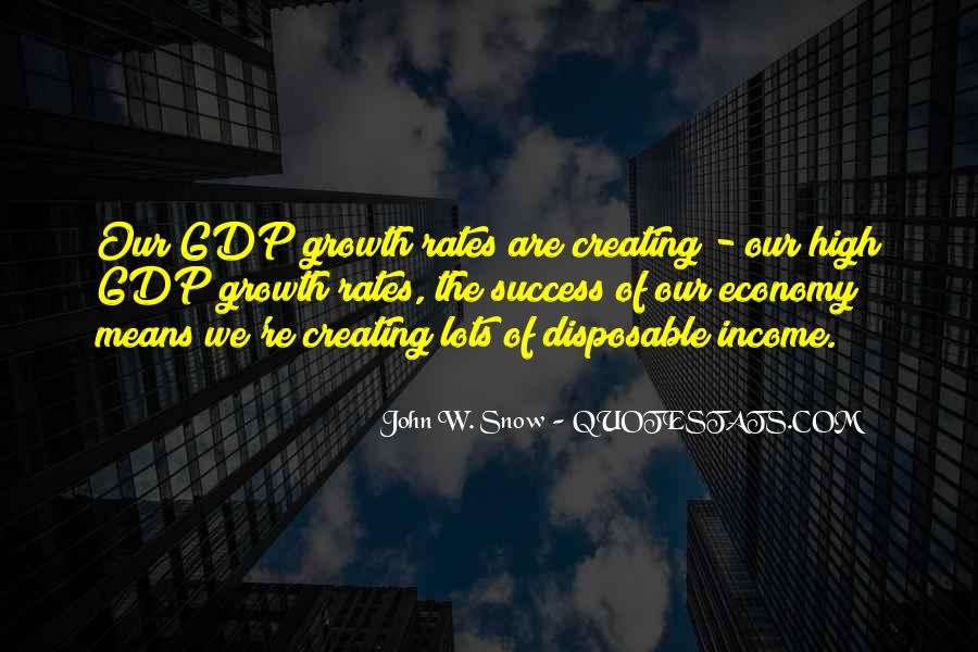 Quotes On Gdp Growth #955634