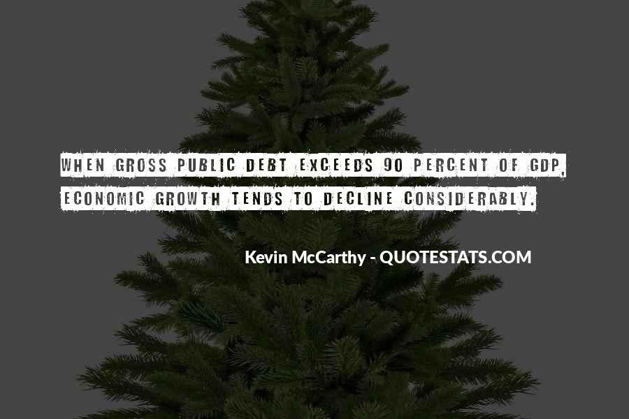 Quotes On Gdp Growth #955835
