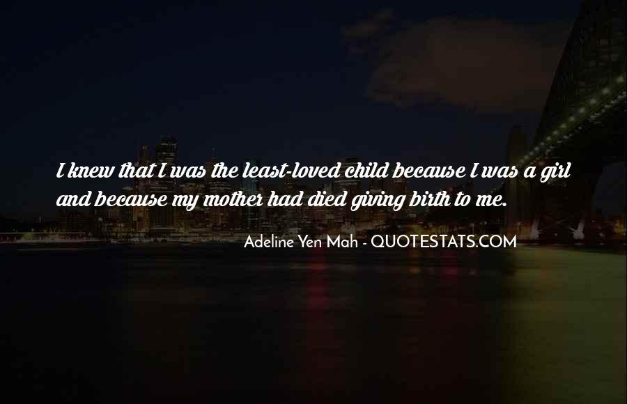 Quotes On Girl Child Birth #1479515