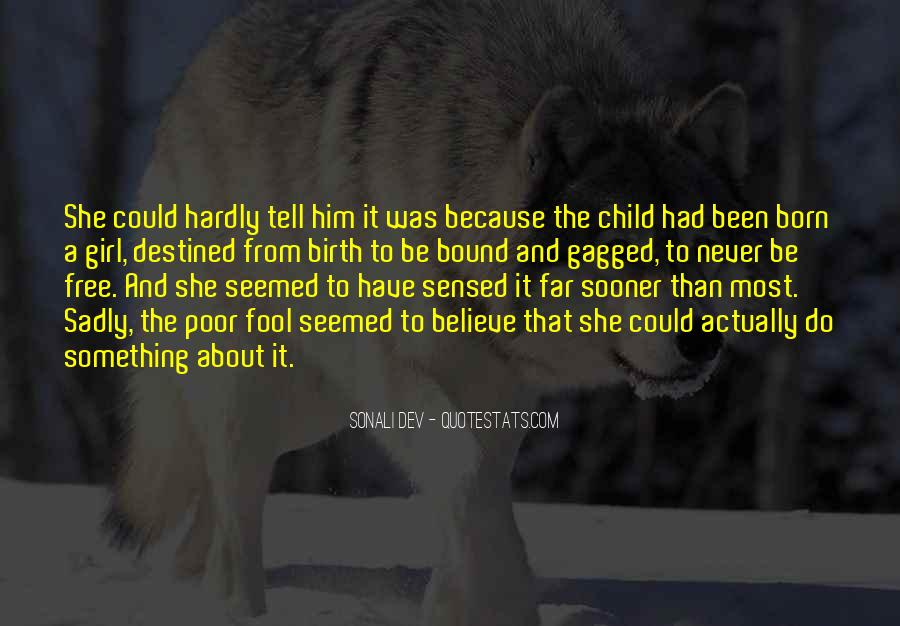Quotes On Girl Child Birth #763640