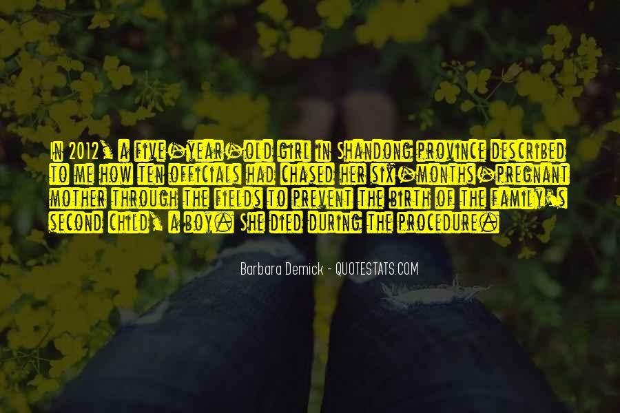 Quotes On Girl Child Birth #80374