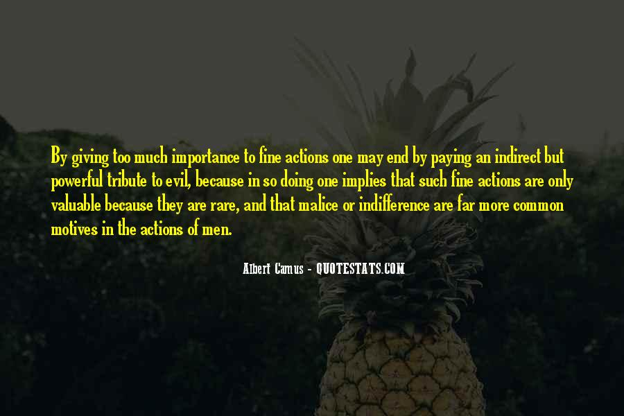 Quotes On Giving Someone Importance #587072