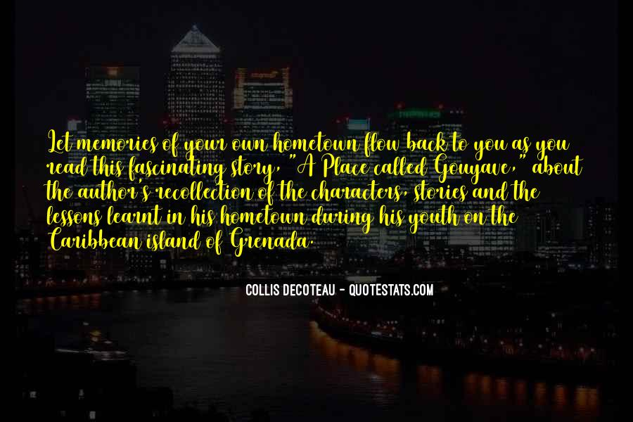 Quotes On Going Hometown #168088