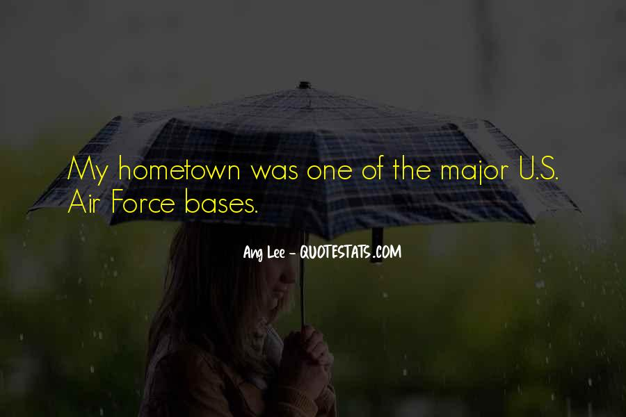 Quotes On Going Hometown #177198