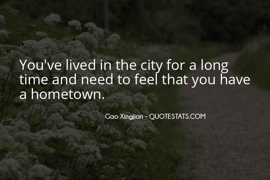 Quotes On Going Hometown #191423