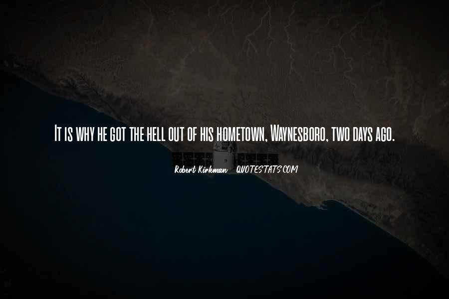 Quotes On Going Hometown #197767