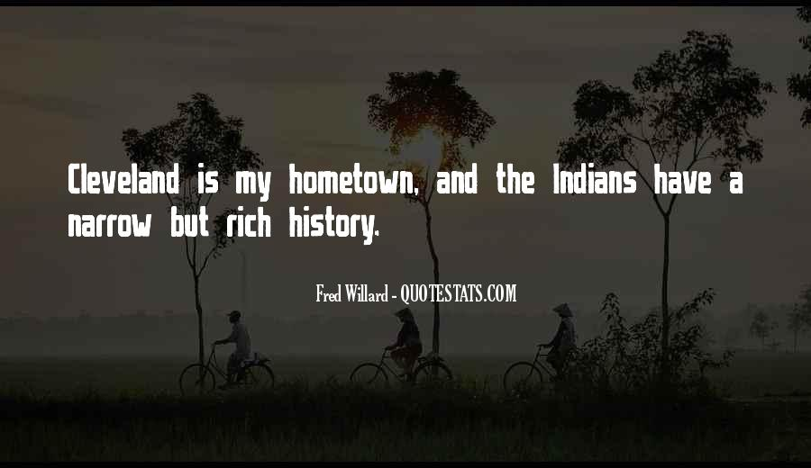 Quotes On Going Hometown #199243