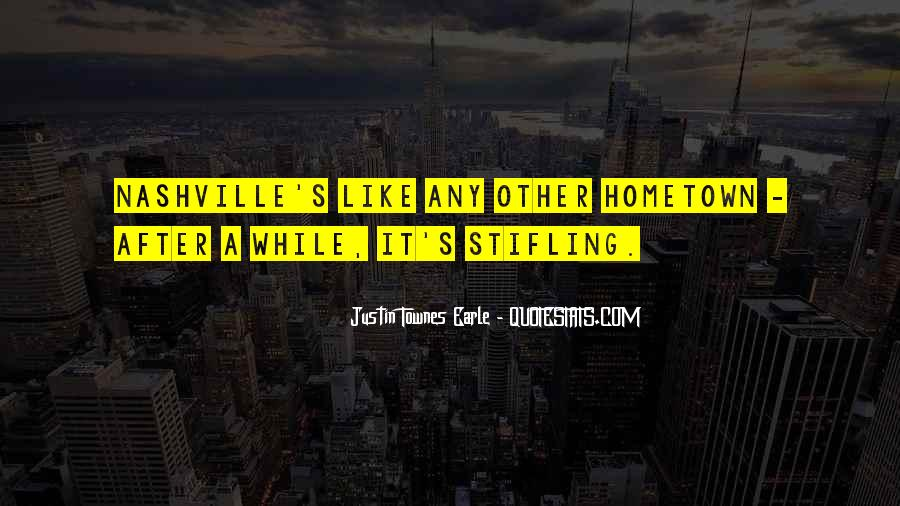 Quotes On Going Hometown #292520
