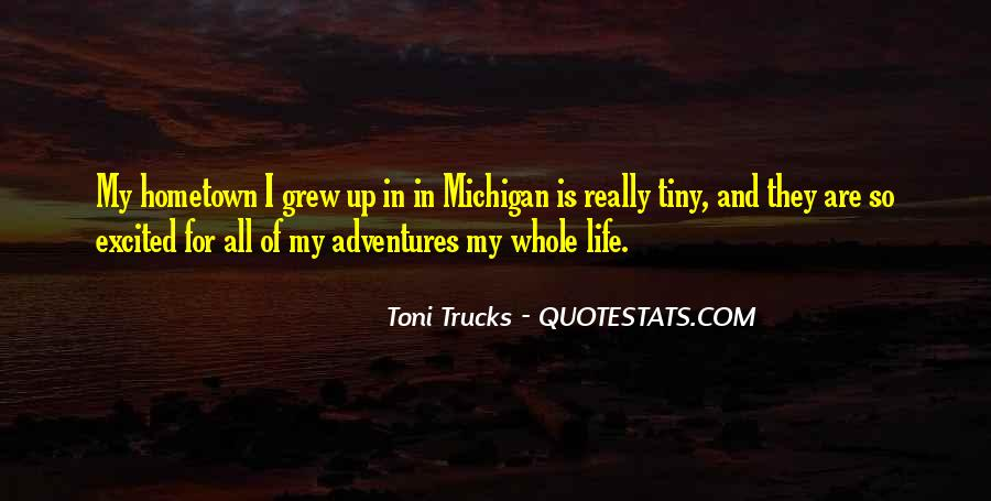 Quotes On Going Hometown #295744
