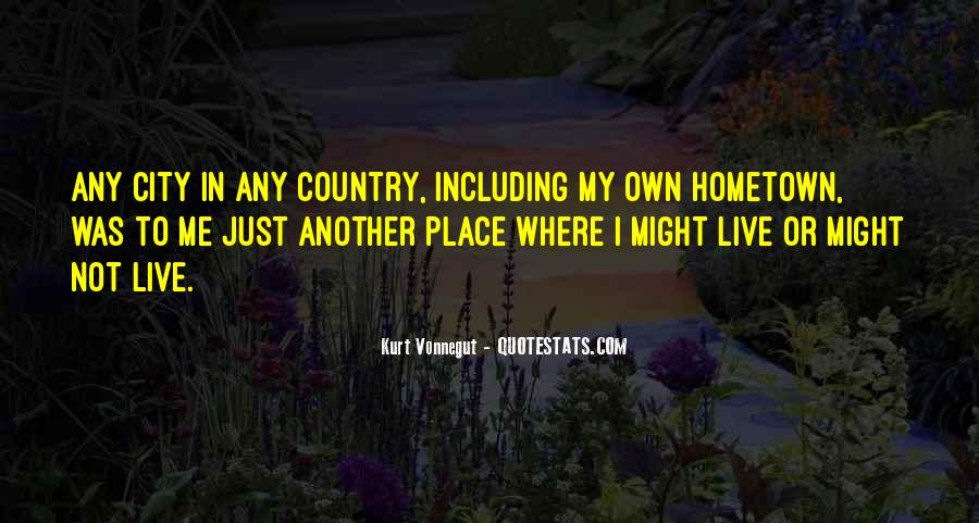 Quotes On Going Hometown #83024