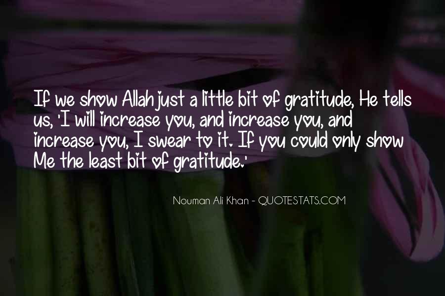 Quotes On Gratitude To Allah #1608166