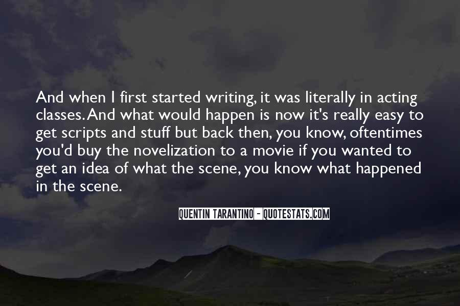 Quotes About Novelization #1279086
