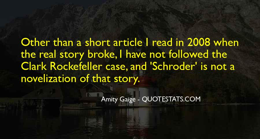 Quotes About Novelization #866389