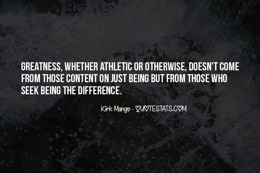 Quotes On Greatness Sports #325546