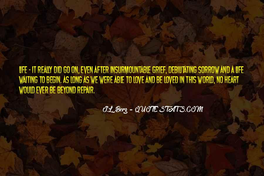 Quotes On Grief And Sorrow #1070971