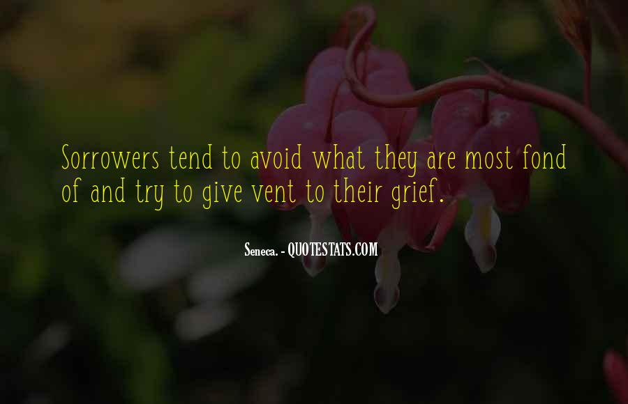 Quotes On Grief And Sorrow #1087789