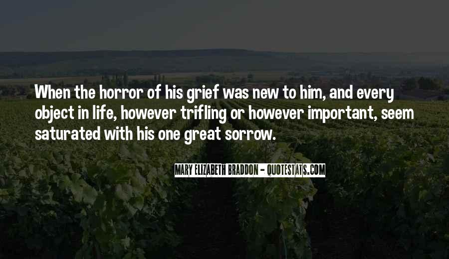 Quotes On Grief And Sorrow #1179528