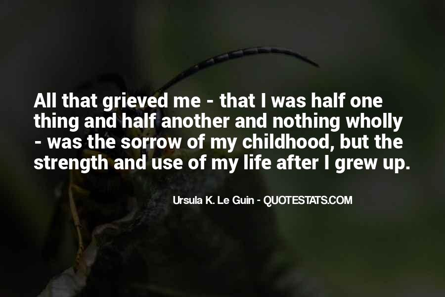Quotes On Grief And Sorrow #1240464