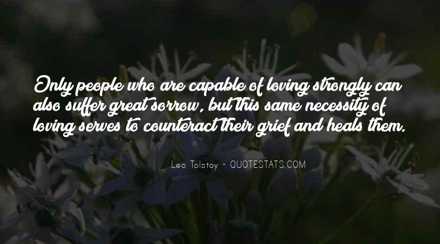Quotes On Grief And Sorrow #365698