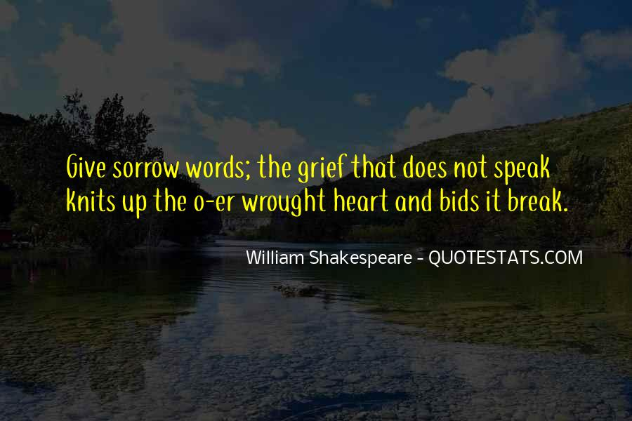 Quotes On Grief And Sorrow #38003