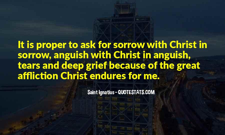 Quotes On Grief And Sorrow #418017