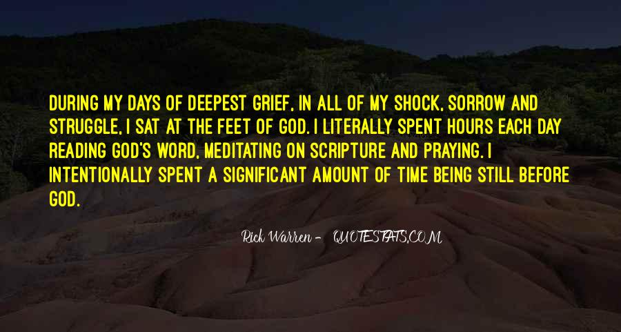 Quotes On Grief And Sorrow #529107