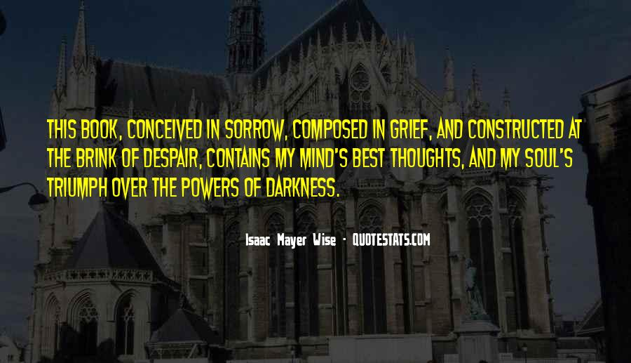 Quotes On Grief And Sorrow #542047