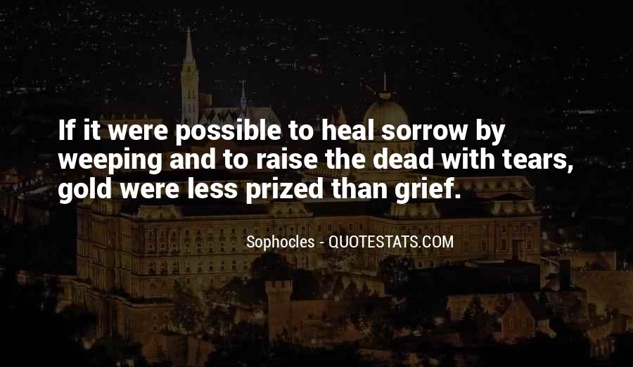 Quotes On Grief And Sorrow #599304