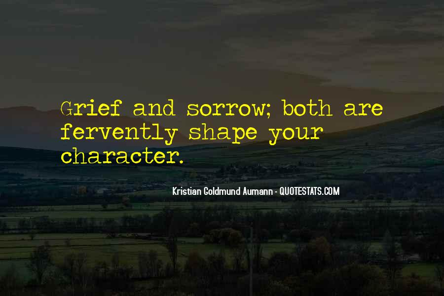 Quotes On Grief And Sorrow #694649