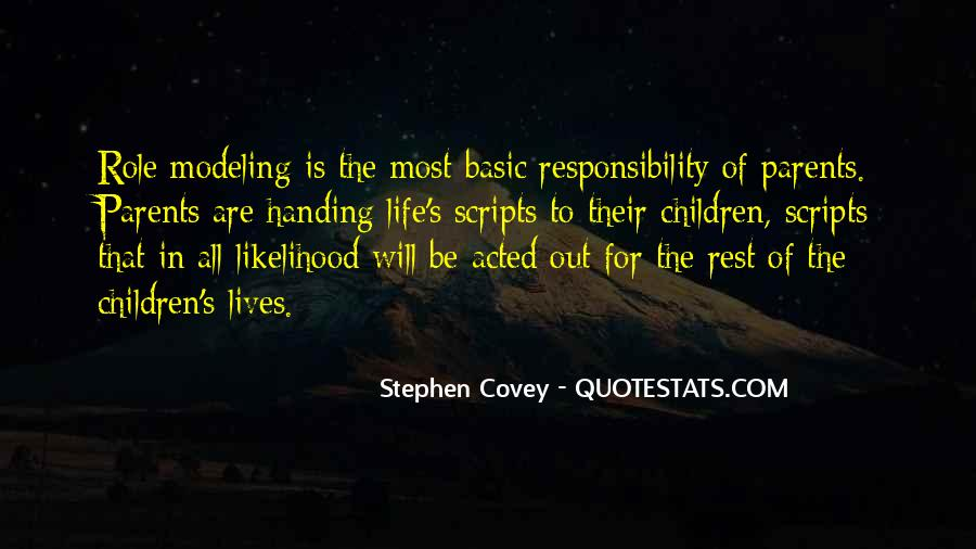 Quotes On Handing Over Responsibility #1279443
